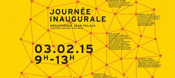 Chaire Idis - affiche de l'inauguration le 3 février 2015