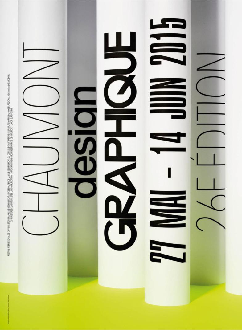 affiche festival de Chaumont 2015