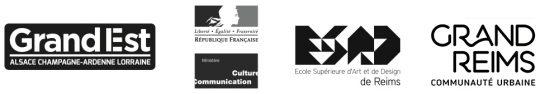 Chaire IDIS - partenaires - logos - esad de Reims