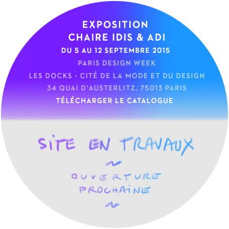 exposition Paris Design Week | site en travaux